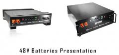 48V LFP Battery 50/100Ah