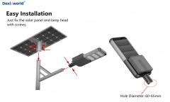 Separated Solar led street light