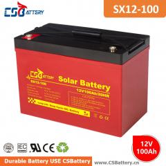 12V Solar Battery