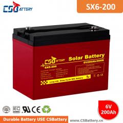 6V 8V Solar Battery
