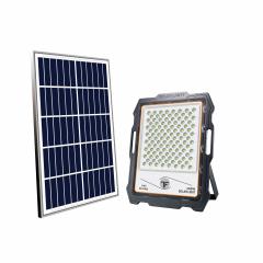 Solar Monitoring flood light