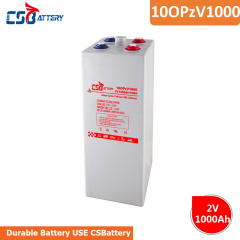 OPzV Tubular GEL Battery