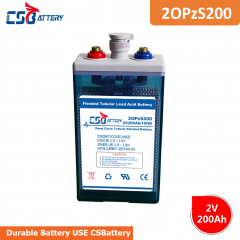 OPzS Tubular Flooded Battery