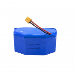 18650 10S2P 36v 4.4ah Rechargeable lithium battery for Electric Balance Scooter