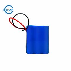 High quality li-ion battery pack 18650 3S2P with PCB 11.1v 5000mah for 12v Portable Set