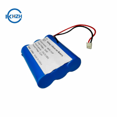 Factory battery 11.1v 2500mah with protection board 18650 3S1P 12V lithium battery pack for head light