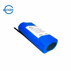 Customized 3.7v 5000mah lithium battery Rechargeable 1S2P 18650 li-ion battery