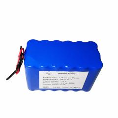 22.2v 6ah lithium ion battery
