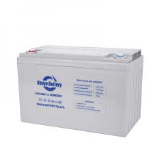 Deep cycle gel battery 12V100Ah