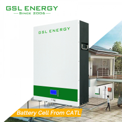 GSL 48V 5Kwh 10kwh Wall Mounted Battery Solar