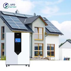 UFO Powerwall Lithium Iron Phosphate Battery 48V 150Ah 7Kwh Home Lifepo4 Lithium Batteries Solar Power Storage Backup