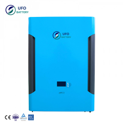 UFO powerwall Ultra thin 5kwh powerwall lifepo4 lithium Wall-Mounted Battery for home solar energy system backup