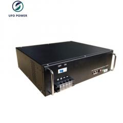UFO Rack 48V Lifepo4 Lithium Ion Battery 100aH