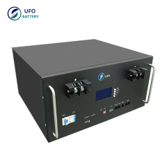 UFO Rack mounted lithium battery 48v 150ah 7.2kwh LiFePO4 lithium ion batteries for Boats use