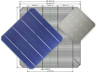MS-4BB 156.75 Mono 4BB Solar Cell(half cut)