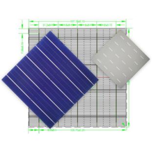 MS-5BB158.75(21.6-22.6) Mono Solar Cell (half cut)