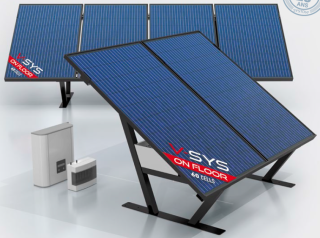 V-SYS On Floor Mono 60C - 300WC PERC