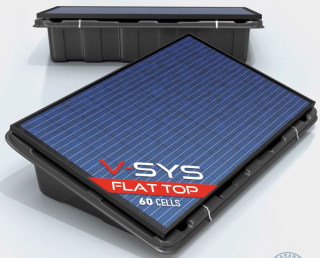 V-SYS Flat Top Poly 60C - 250WC