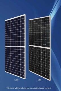 410W-390W Mono Solar Module (Double Glass)