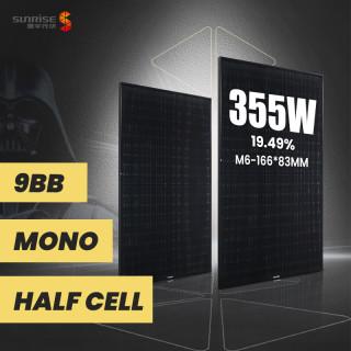 M6 120cells 340w-355w Black