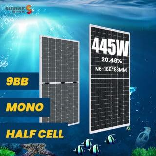M6 144cells 425w-445w Bifacial
