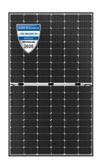 Eco Line Glass-Glass Half Cell Bifacial M120/355-375
