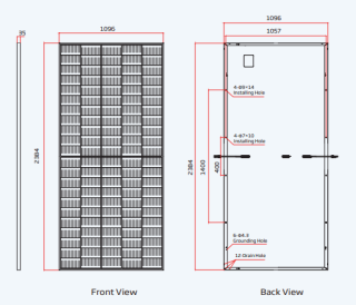 Vertex TSM-DE19 530-555W