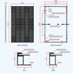 Vertex S TSM-DE09.08 390–405W