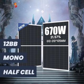 G12 132cells 650w-670w