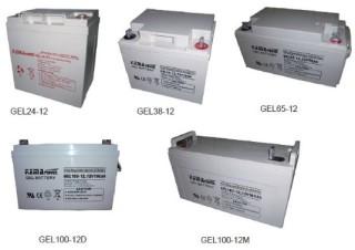 Deep Cycle Solar Battery 12VDC GEL Series