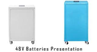 48V LFP Battery 300/600Ah