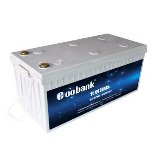 LiFePO4 Deep Cycle Battery 25.6V 200Ah