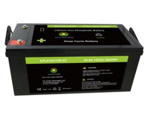 Lifepo4 battery pack 24V 150AH