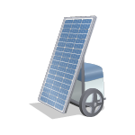 Pannello Fotovoltaico Portatile