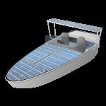 القوارب - تعمل بالطاقة الشمسية