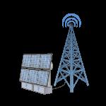 PV-Anlage für Funkturm