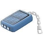 Solartaschenlampe in Schlüsselringe