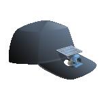 المراوح المثبتة على القبعات