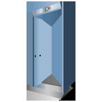 Detektor für Türrahmen