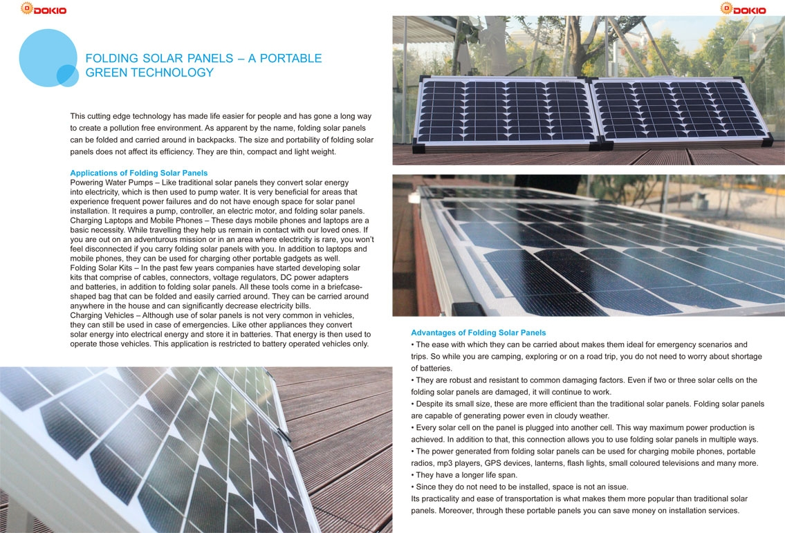 Jinhua Dokio Technology Co Ltd Solar Panels China