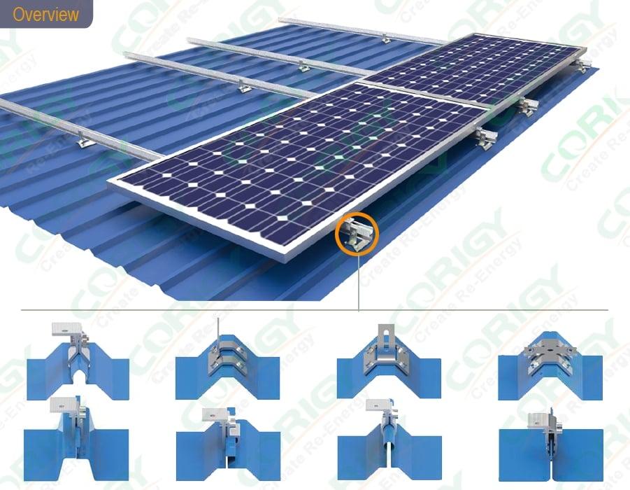 Corigy Energy | Tin Roof Solar Mounting System | Solar