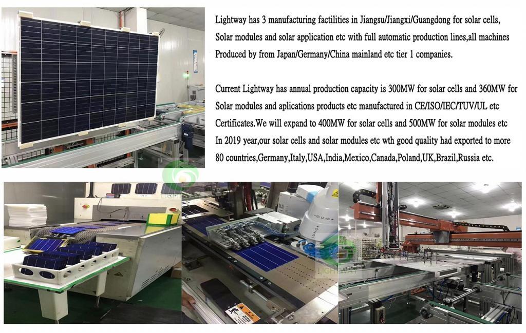 Lightway Solar | LW-Bifacial-PERC | Solar Cell Datasheet