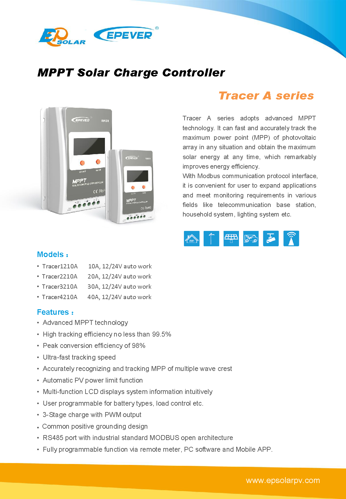Beijing Epsolar Technology Co., Ltd. | Tracer A Series | Solar ...
